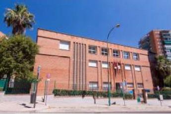 Fachada del Centro Cultural Hortaleza